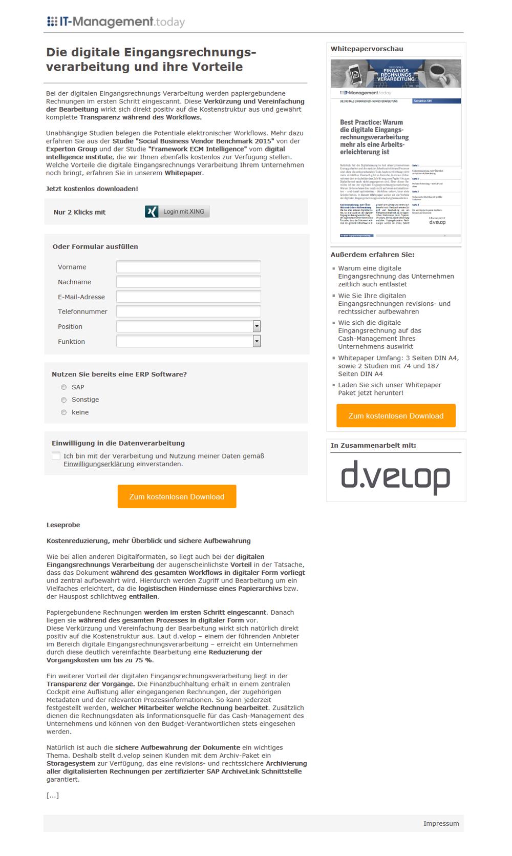 kampagne_Studie_Die digitale Eingangsrechnungsverarbeitung
