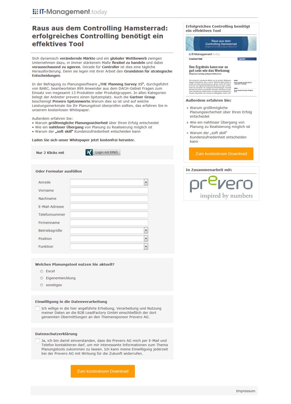 Referenz_Kampagne_prevero_Erfolgreiches Controlling benötigt ein effektives Tool