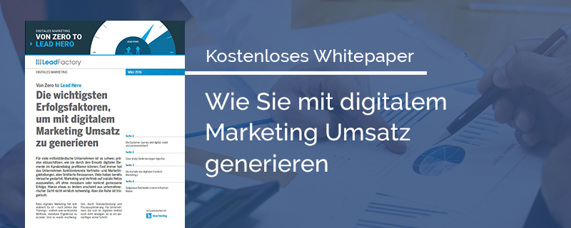 Whitepaper Header Von Zero zu lead Hero