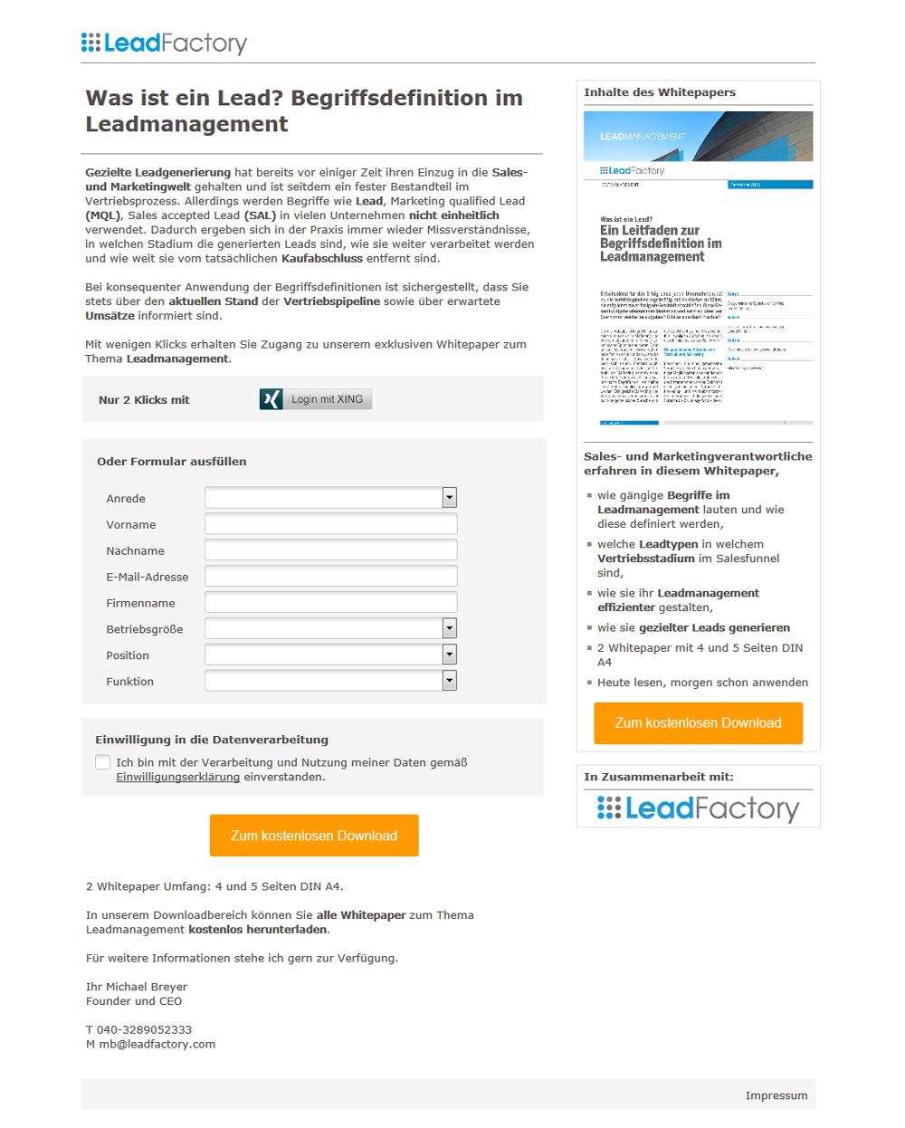 Referenzkampagne_intern_Was ist ein Lead? Begriffsdefinition im Leadmanagement