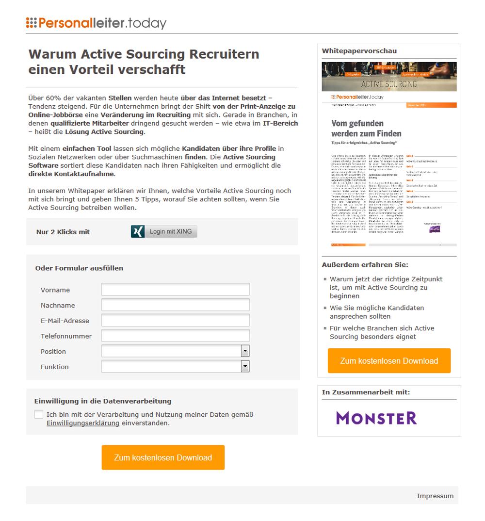 Referenzkampagne_Monster_Warum Active Sourcing Recruitern einen Vorteil verschafft
