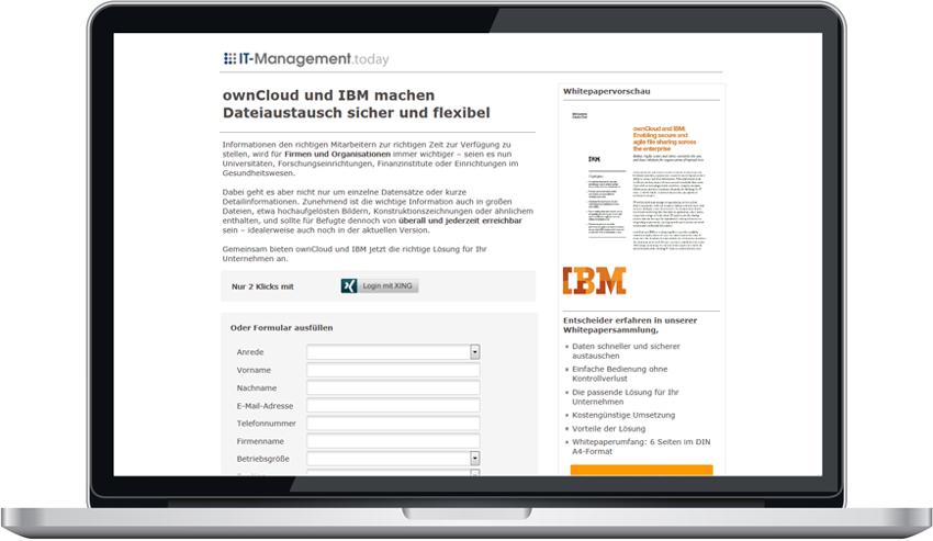 Kampagne_ownCloud_IBM_ownCloud und IBM machen Dateiaustausch sicher und flexibel