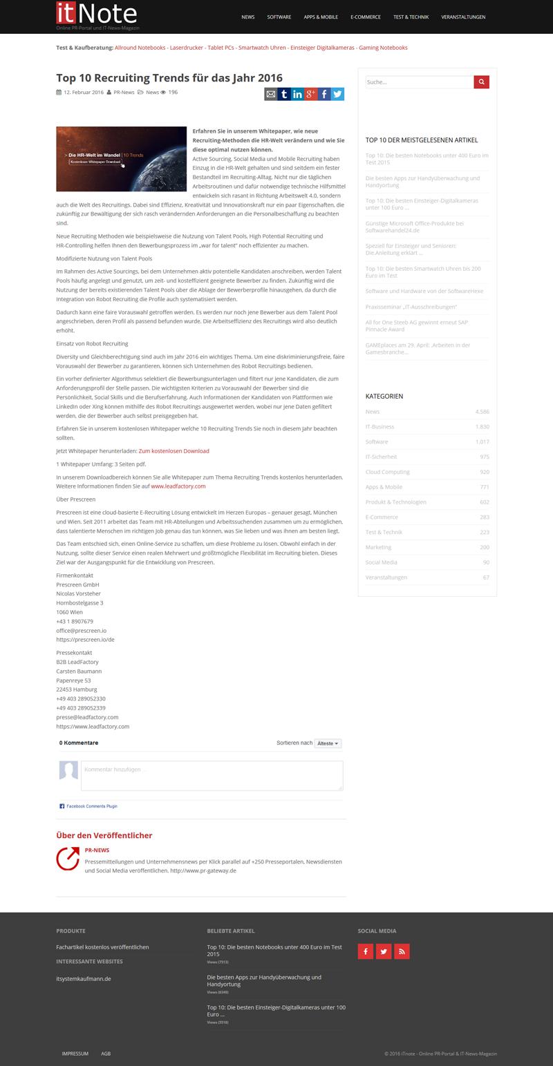 Referenzkampagne_PM_prescreen_Top 10 Recruiting Trends