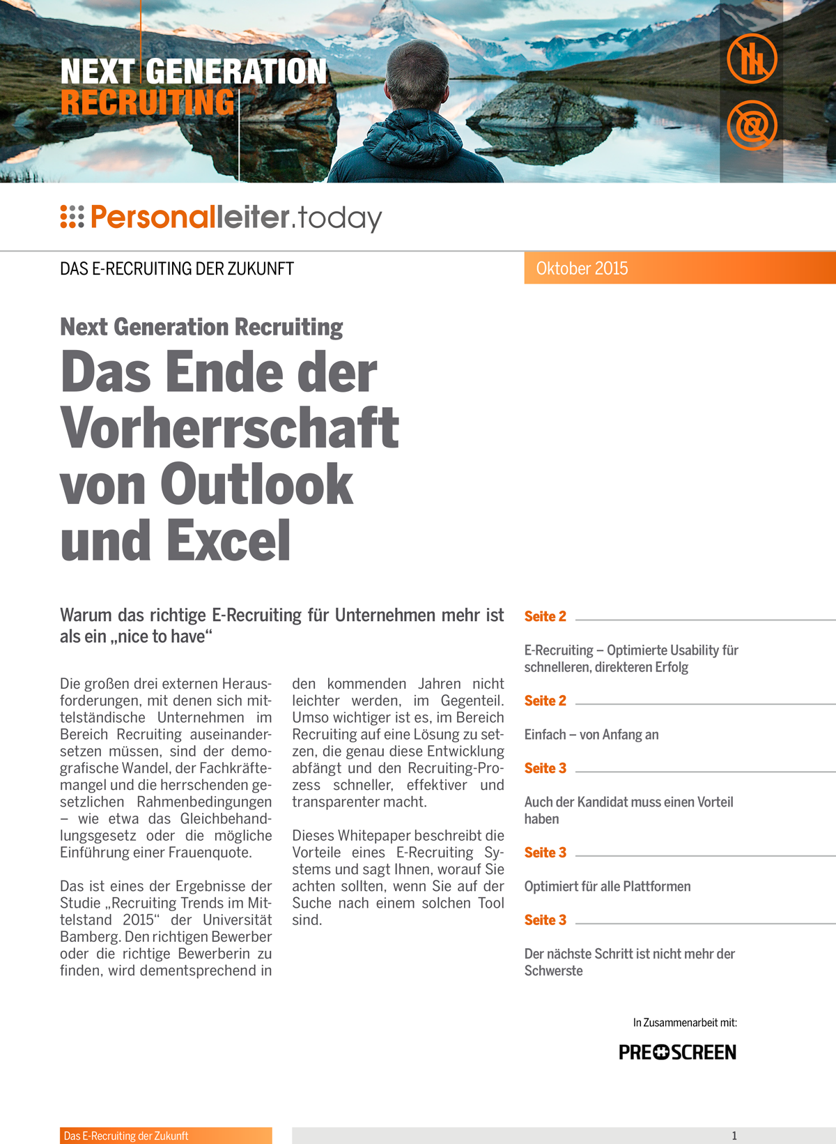 """referenzkampagne_whitepaper_prescreen_Warum das richtige E-Recruiting für Unternehmen mehr ist als ein """"nice to have"""""""