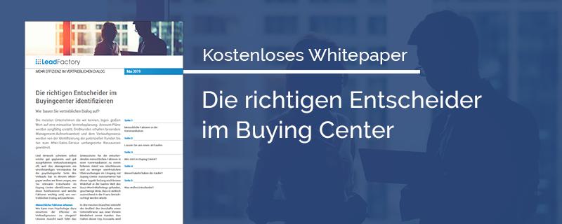Whitepaper_So finden Sie die richtigen Entscheider im Buyingcenter