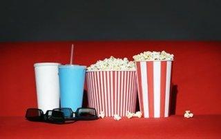Popcorn und Cola