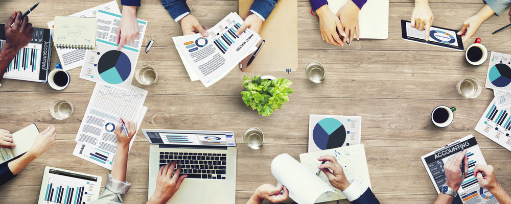 Meeting der Marketingabteilung - Marketingbudget