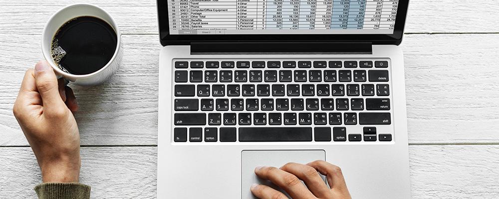 Laptop+Kaffee - Digitalisierung