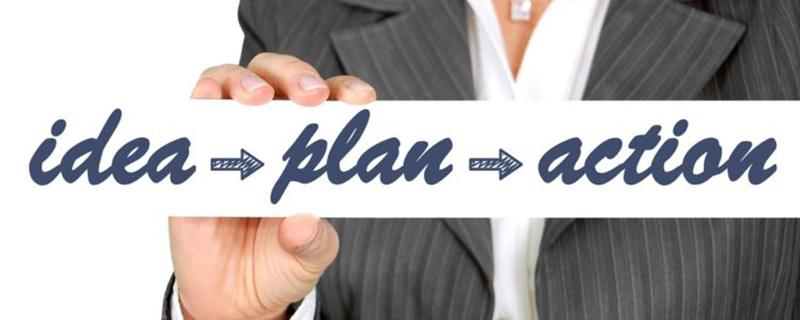 Idee-Plan-Aktion - Leadgenerierung
