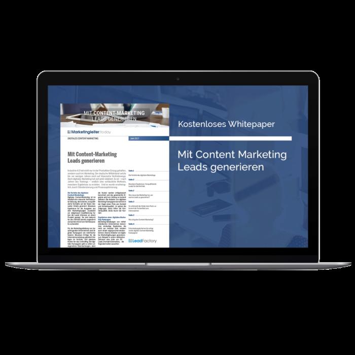 Produktbild Whitepaper Lead 2