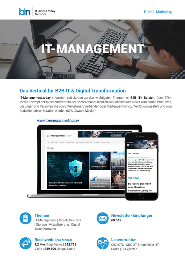 Mailing Spezifikationen IT-Management.today