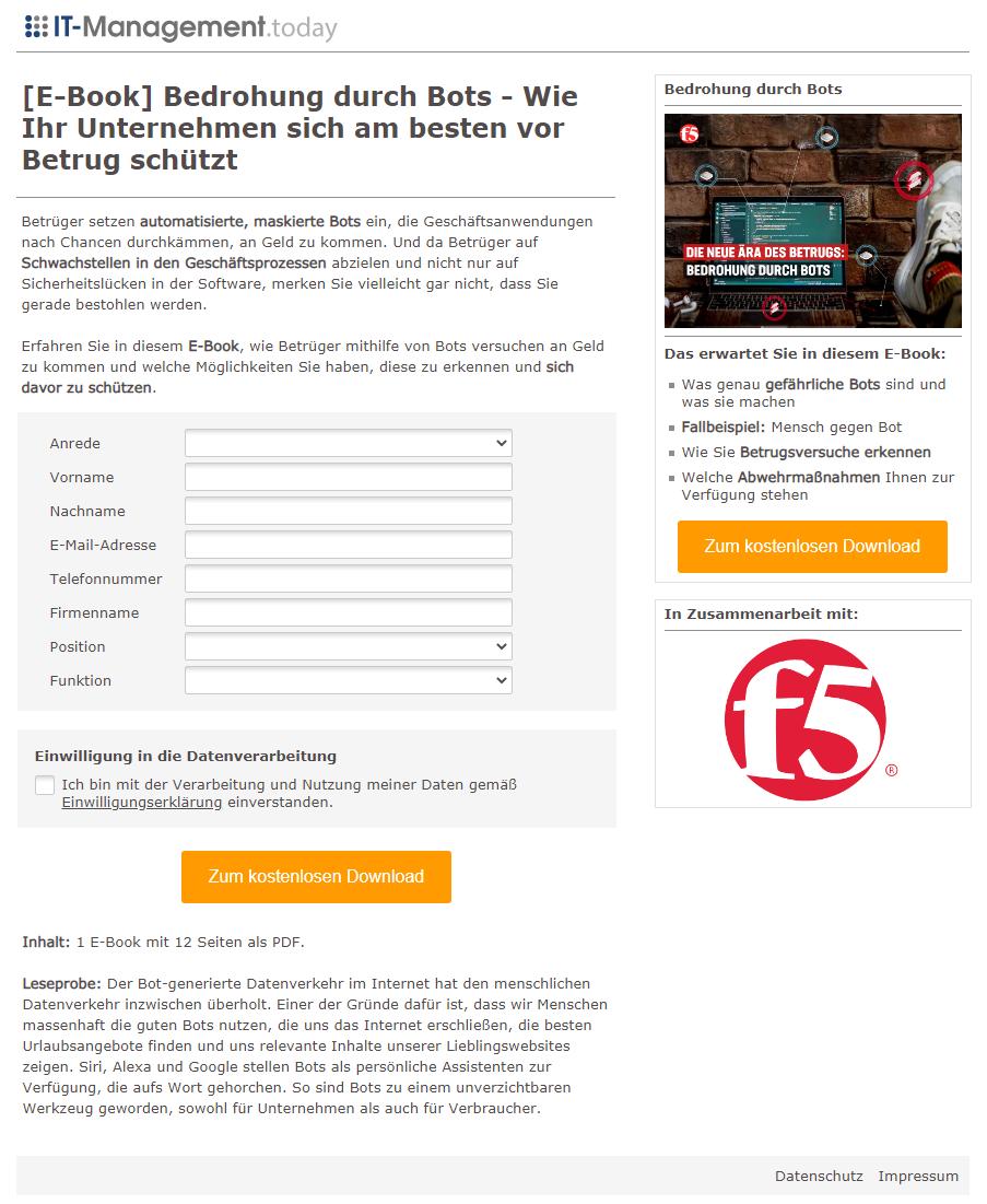 Leadkampagne_F5_Bedrohung durch Bots - Wie Ihr Unternehmen sich am besten vor Betrug schützt