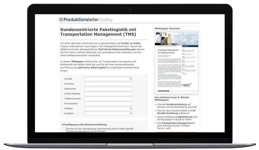 Mockup_Laptop_Logistyx Transportation Management