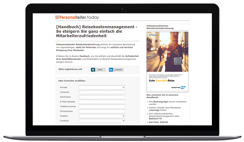 Mockup_Laptop_SAP Reisekostenmanagement