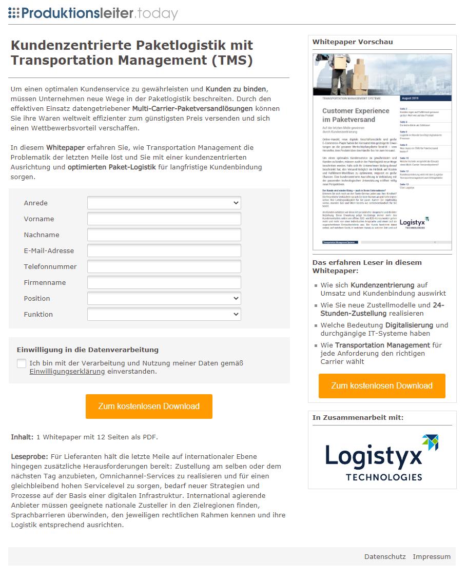 Referenzkampagne_Landingpage_Logistyx Transportation Management