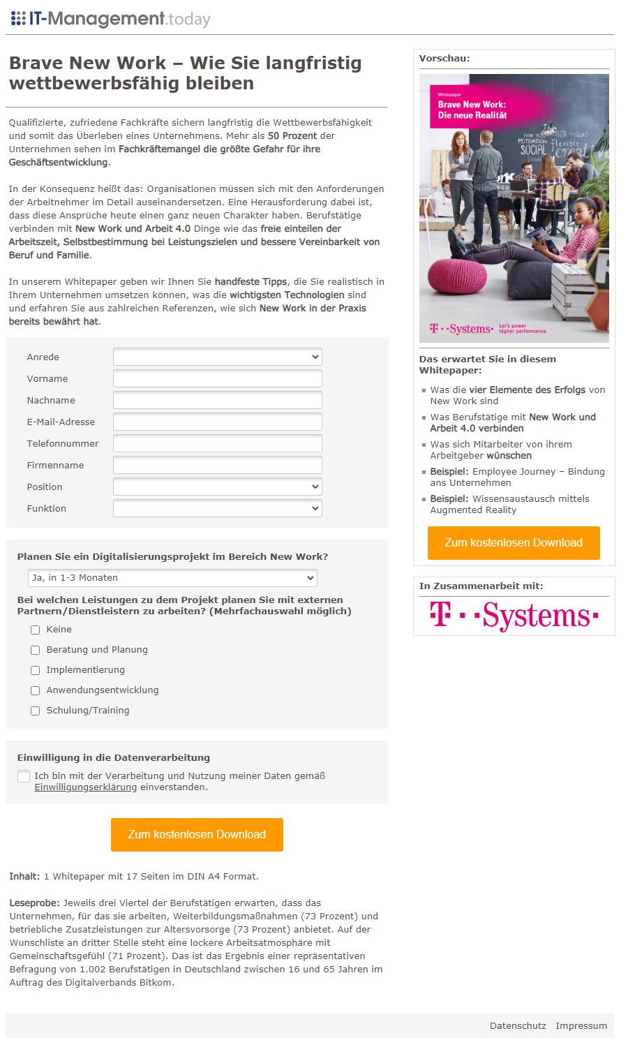 Referenzkampagne_Landingpage_T-Sytems New Work