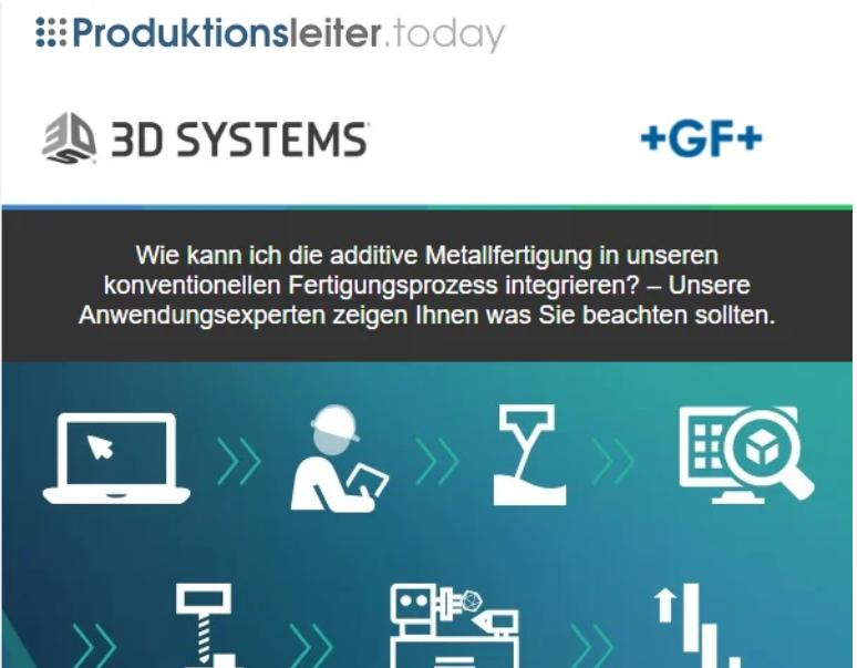 Referenzmailing 3D Systems e15995622727153