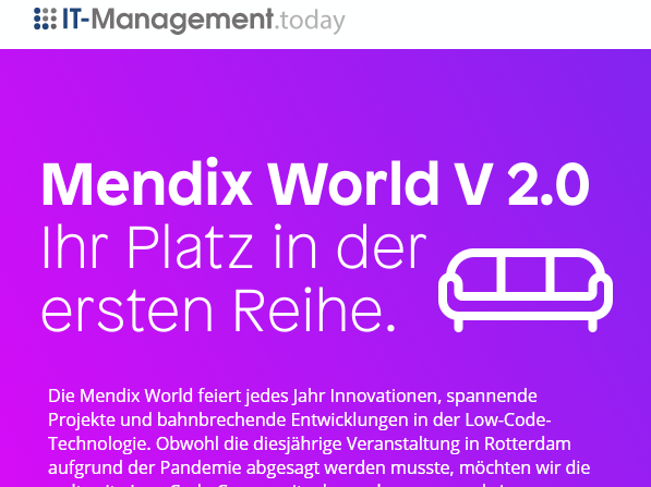 Mendix World 2020