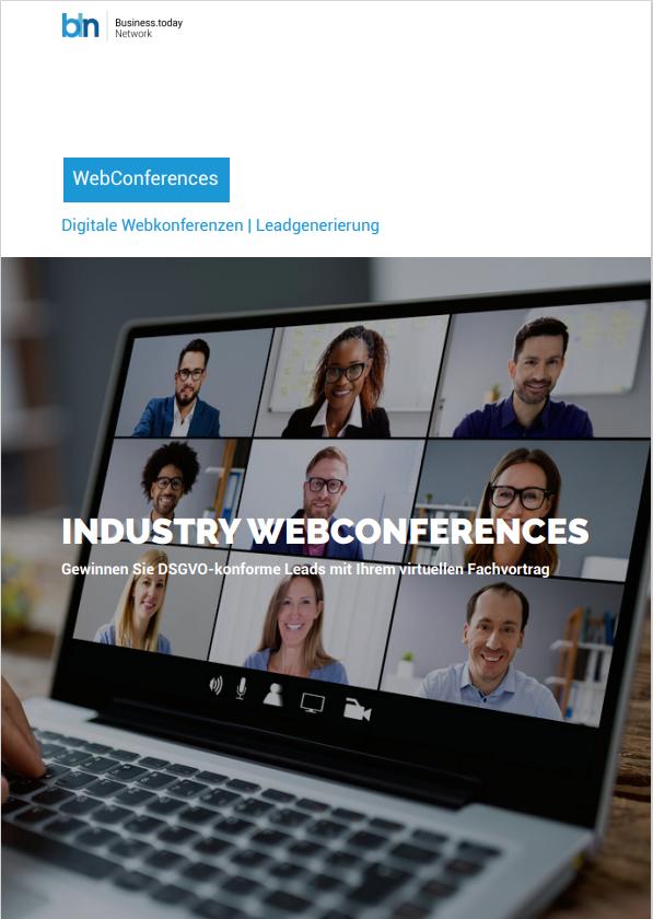 Produktdatenblatt Webkonferenzen