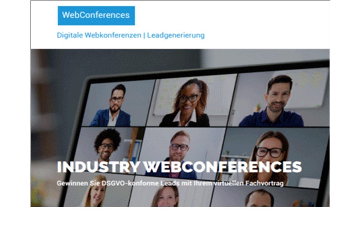 Produkdatenblatt Webkonferenzen mit Rahmen